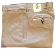 Charleston Khakis Cotton/Elastaine Pants - Brown
