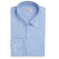 Peter Millar Crown Soft Pinpoint - Tarheel Blue