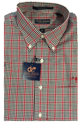 Craig Reagin USC Windowpane Plaid Sport Shirt