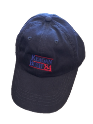 Craig Reagin Reagan Bush '84 Hat - Navy