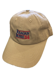 Craig Reagin Reagan Bush '84 Hat - Khaki