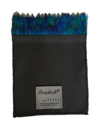 Brackish Pocket Square - Peacock