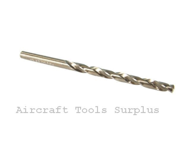"""NEW USA 7//16/"""" Jobber Length Cobalt Drill Bit"""