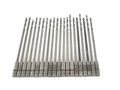 "#20 Drill Bits HSS/Cobalt  Pkg of 20 - 6"" Aircraft Surplus"