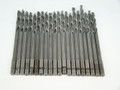 "1/4"" Drill Bits HSS/Cobalt  Pkg of 20 - 6"" Aircraft Surplus"