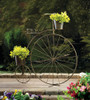Vintage-Style Bicycle Plant Stand
