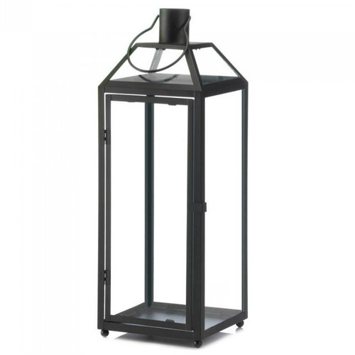 Classic Metal Candle Lantern - 21.5 inches