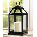 Iron Classic Candle Lantern - 12 inches