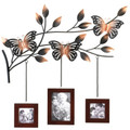 Metal Butterfly Wall Picture Frames Decor