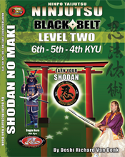 NINJUTSU SHODAN BOOK LEVEL TWO