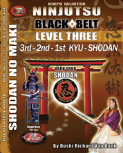 NINJUTSU SHODAN BOOK LEVEL THREE