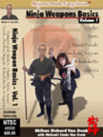 NINJA WEAPONS BASICS - VOL. 1