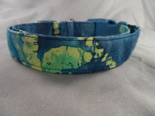 Dog Days Blue Batik Collar