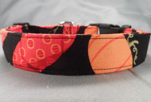 Fun and Fancy Halloween Pumpkins Dog Collar