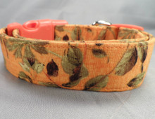 End of Summer Leaves Dog Collar