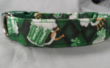 Foamy Green Beer Dog Collar