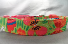 Colorful Summer Butterflies Dog Collar rescue me collars
