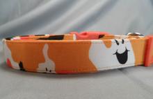 Ghostly Camo Halloween Dog Collar Rescue Me Dog collar