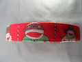 Sock Monkey Christmas Dog Collar