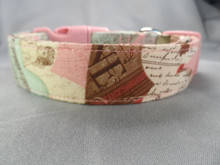 Romantic Valentine Dog Collar Rescue Me Dog Collar