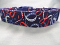 Red White and Blue Streamers Patriotic Dog Collar Rescue Me Dog Collar