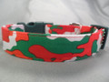 Camo Christmas Dog Collar