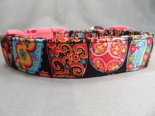 Sparkle Paisley Dog Collar