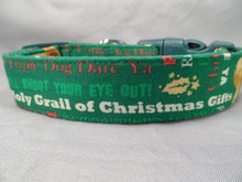 A Christmas Story Dog Collar Licensed Fabric