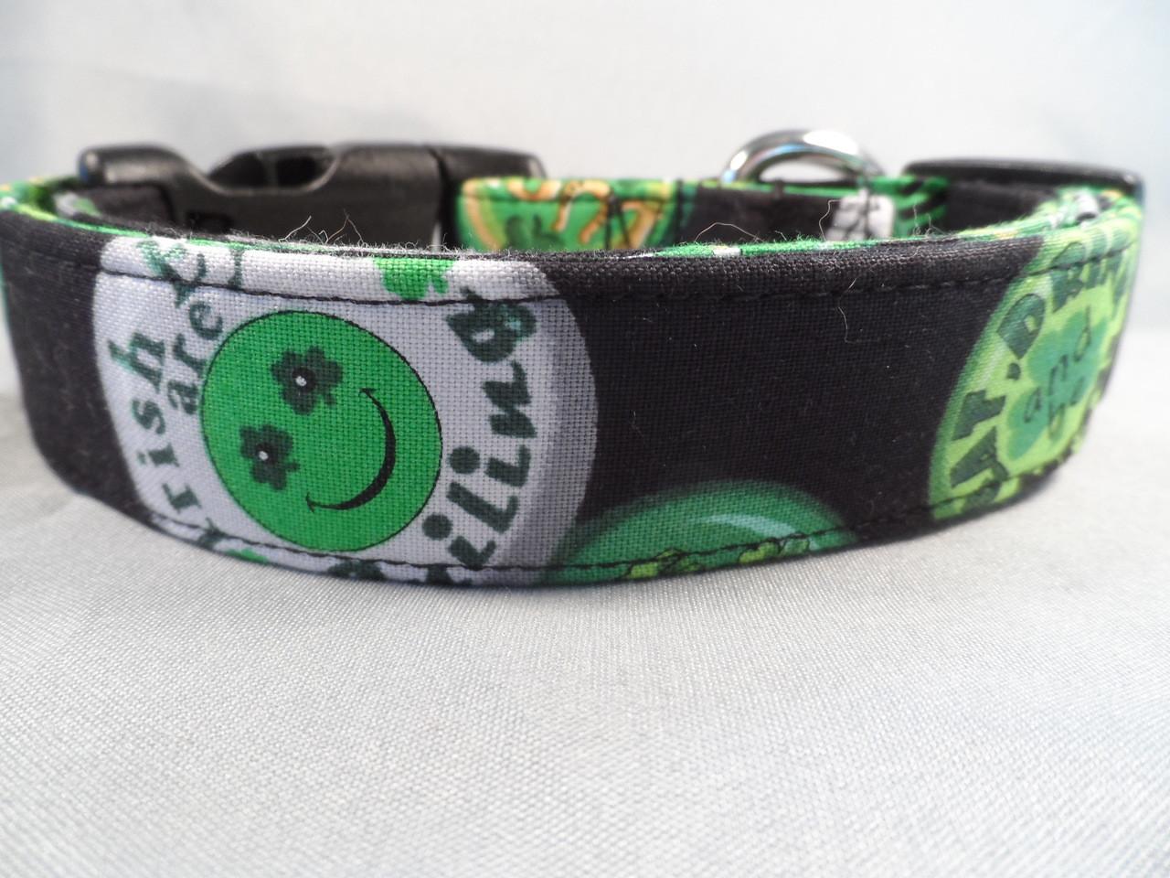 St  Patrick's Day Dog Collar, Irish Slogans