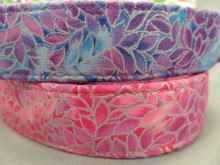 Pretty Petals, Purple Girl Dog Collar