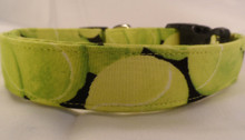 Tennis Ball Dog Collar Rescue Me Collar