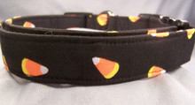 Candy Corn Halloween Dog Collar