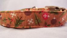 Country Christmas Dog Collar
