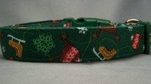 Winter Wear Holiday Dog Collar