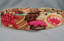 Bakery Sweet Treats Dog Collar