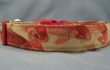 Cool Koi Fish Dog Collar