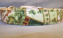 Irish Theme Dog Collar
