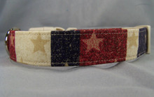 Stars and Wide Stripes Dog Collar