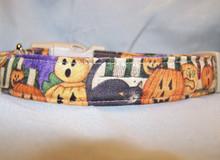 Nostalgic Pumpkins Halloween Dog Collar