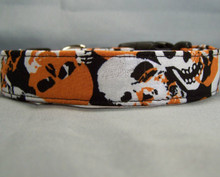 Halloween Skulls Dog Collar