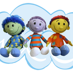 Shushybye Plush Dolls Set (Zeez, Snoozles, Dozie)