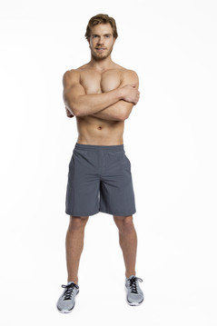 Jack Adams PE Training Short - Charcoal