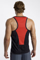 Race Tank Top- Black with Red Trim