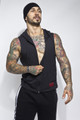 Jack Adams Zip Front Muscle Hoodie