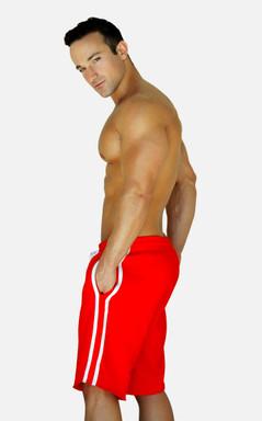 Jack Adams Raw Gym Short - Red