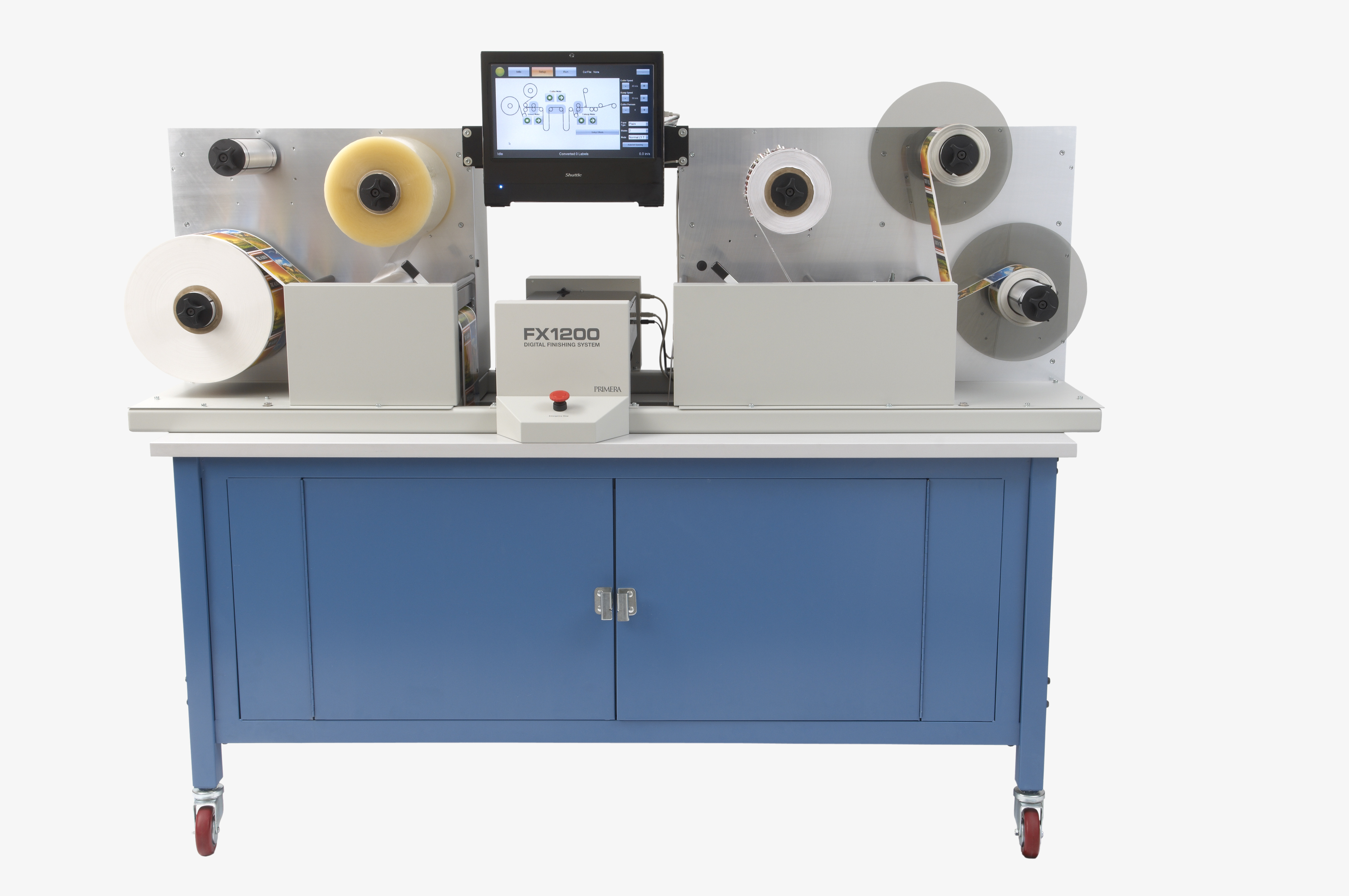 Primera FX1200 Label Finishing System