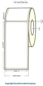 "Primera LX900 1""x6"" Matte BOPP Labels | Primera LX900 Labels | Labels"