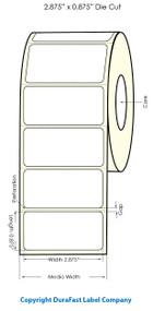 "Primera LX900 2 7/8""x7/8"" White Polyester Labels   Primera LX900 Labels   Labels"