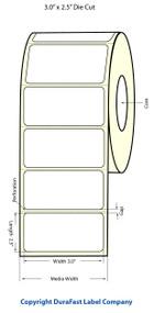 "Primera LX900 3""x2.5""  Clear Polyester Labels | Primera LX900 Labels | Labels"