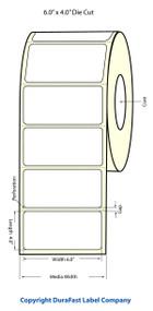 "Primera LX900 6""x4"" White Matte Labels | Primera LX900 Labels | Labels"